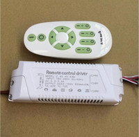 Wholesale led light ceiling battery for sale - Group buy 40 W V Stepless dimming power supply G remote control dimmer driver for LED ceiling lighting dual color drive not have battery