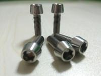 Wholesale Taper Tools - 5Pcs Titanium Bolts M6 x 18mm Taper Head Conical Head