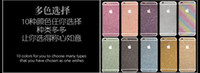 Bling Shinny Full Body Skin Sticker Glitter Diamond Front Sides Back Screen Protector Pellicola per iphone 6 6S plus