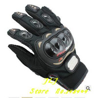 Wholesale Motorcycles Parts Gloves - Motorcycle Racing Accessories & Parts Bike Bicycle Full Finger Protective Gear Gloves Free Drop Shipping Wholesale