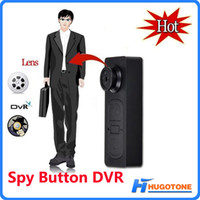 Wholesale Dvr Button Spy Camera - New Spy Button DV Mini S918 Hidden Camera Button Audio Video PC DVR Voice Recorder DVR Cam 1280*960 Digital Camcorders
