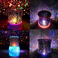 Wholesale Led Star Projector Night Light - Retail Good Gift Starry Star Master Gift Led night light For Home Sky Star Master Light LED Projector Lamp Novelty Amazing Colorful