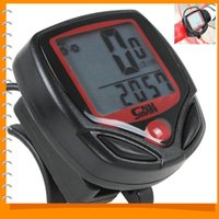 Wholesale Digital Rpm - Universal Digital Tachometer Motorcycle RPM Hour Meter Tacho Gauge for Bike Motorcycle Boat Engines with 27 x 23mm LCD Display