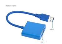 Wholesale external video card adapter for sale - Group buy VGA adapter USB to VGA Multi display Adapter Converter External Video Graphic Card Free DHL Shipping