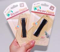Wholesale Tie Cheap Wholesale - Cheap universal Car phone Grip holder cellphone Mounts Back tie sticker Phone Handle Finger Grip Holder for universal cellphones