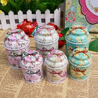 Favor Boxes black tea tin - Love Story Wedding Favor Holders Gift Boxes candy box tea box30Pcs circle Desgin Wedding Tin Candy Boxes Best Selling