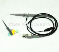 Wholesale O021 new x1 x10 P6400 MHz Oscilloscope Clip Probe For Tektronix HP