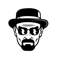 Wholesale Breaking Bad Decal - Wholesale Car Stickers Heisenberg Vinyl Decal - Walter White Breaking Bad Sticker Car Window Bumper - 14cm X 15cm