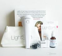 Wholesale Lightstim For Wrinkles - Newest LightStim for Wrinkles Ance Face And Skin Care Massager Vibration LightStim Plus Device free Collagen Peptide Serum DHL free