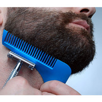 estilos de corte de barba al por mayor-Barba Bro Hair Trimmers Barba Shaping Styling Man Gentleman Beard Trim Template corte de cabello moldeado Modelado de podadoras de cabello