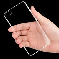 Wholesale Cheapest Iphone Hard Cases - Cheapest Pure Crystal Clear Plastic PC Hard Case for iphone 6 4.7 Slim Phone Shell Back Cover Bags Transparent RCD04419