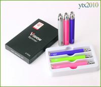 vision w achat en gros de-Batterie de vision Batterie électronique 650mah 900mah 1100mah de tension de cigarette de torsion d'Ego C 3.3V-4.8V pour 510 ego-t ego-w e Cigaratte