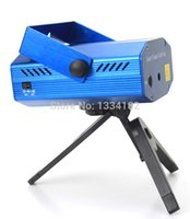 Wholesale Wholesale China Projector - Wholesale-Hot sell Free Shipping Mini Projector R&G DJ Disco Light Stage Xmas Party Laser Lighting Show DJ-BL(China (Mainland))