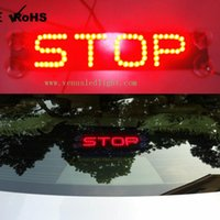 Wholesale Ford Wagon - Universal brake lights led general brake lamp third brake light stop taxi led car light refit additional brake lights