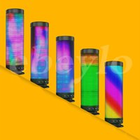 Wholesale Dream Mobile Phone - Bluetooth Dream Speaker in Fantasy LED Light Music 3.0 wireless Outdoor Speakers Portable Hand-free Pulse speaker TF Card USB