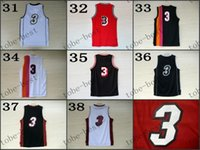 Wholesale Mixed Basketball Jersey - #3 2015 Cheap Rev 30 Basketball Jerseys Embroidery Sportswear Jersey S-3XL 44-56 free shipping mix size