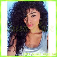 Wholesale Wig Bangs Auburn - Virgin Brazilian Full Lace Human Hair Wigs With Bangs Body Wave Glueless Full Lace Wigs 130% Density With Baby Hair Bleach Knots