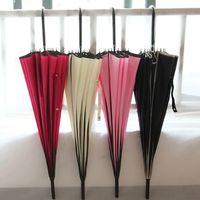 Wholesale ladies sunny - Brand Fashion New Sun Rain Ladies Princess Umbrella Long Handle Pagoda Creative Umbrellas Rain Women KT0128 Kevinstyle
