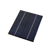 Wholesale mp3 tests online - 100Pcs W V DIY Polycrystalline Solar Cell Panel PET Laminated Solar Cell for Test and Education DHL Shipping