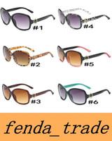 belles lunettes de soleil pour les femmes achat en gros de-2018 NOUVEAU mode femme tendance lunettes de soleil 8016 UV400 grande monture ronde Lunettes de soleil NICE FACE 6 couleurs Qualité A +++ MOQ = 10