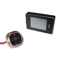 Wholesale Door Pictures - 283 a touch-screen electronic cat's eye Household electronic doorbell Touch screen door bell Support video pictures The biggest support 32 g