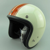 Wholesale Vintage Scooter Helmets - wholesale free shipping 2015 new casco capacetes motorcycle helmet vintage helmet high quality S M L XL size 3 4 open face scooter helmets