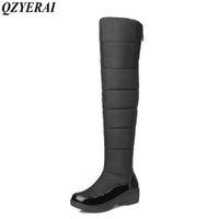 Wholesale Shoes Warm Very - QZYERAI winter minus -40 degrees cotton warm snow boots women shoes waterproof female boots winter is very warm