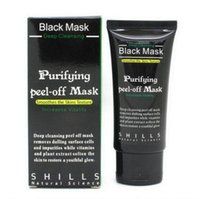 Wholesale black face masks resale online - Black Mask Face Mask Blackhead Remover Cleansing Purifying the Black Head Acne Treatments Face Mask Skin Care