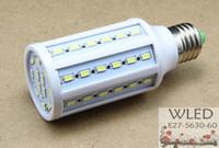 Wholesale E26 Led Light Corn - 4pcs lot 15W 60LED 5630 SMD E27 E14 B22 E26 B15 220v Corn Bulb Light Maize Lamp Light Bulb Lamp LED Lighting Warm Cool @ WLED7