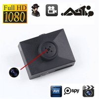 Wholesale Mini Button Cam - 32GB HD 1080P Button Wide Angle Camera With 32 TF Card Mini Covert Body Police Secuity spy Cam