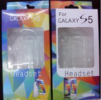 volumen colorido del auricular al por mayor-Auriculares de 3.5mm para auriculares coloridos para Samsung S4 i9500 S5 Note 2 3 con control de volumen MIC