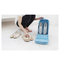 Wholesale Shoe Organizer For Travel - Simmer Stone Portable Waterproof Travel Shoe Tote Bag case organizer hold 3 Pairs of Shoes perfect for Travel  Business Trip 00848
