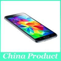 Wholesale cellphone super camera for sale - Original refurbished quot Samsung Galaxy S5 P Super AMOLED Android Samsung i9600 Quad Core GB GB Front camera DHL