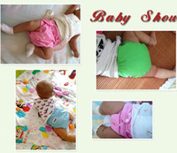 Wholesale Sassy Training Pants - Baby Diaper Washable Reusable nappies changing Grid Cotton training pant happy cloth diaper sassy fraldas Winter Summer Version gift 7Colors