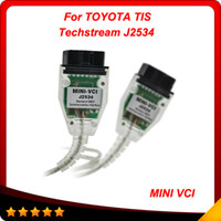 Wholesale Techstream Software - 2015 Latest Software Version Quality A + MINI VCI FOR TOYOTA TIS Techstream V8.10.021 Diagnostic interface free shiping
