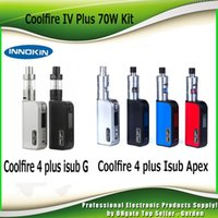100% original Innokin coolfire IV Plus 70W con iSub G tanque o iSub Un Apex Tanque 3300mAh Kit arrancador fresco fuego 4 Plus vs Kang Nebox 2201052