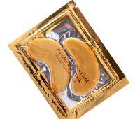 narizes perfeitos venda por atacado-Hot Sales Cristal Collagen Gold Powder Eye Máscara 50packs = 50Pairs = 100 pçs / lote