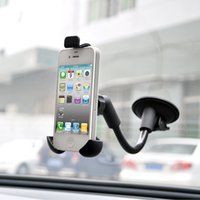 Wholesale Base 4s - Car Center Console Windshield Phone Holder For Iphone 4 4s Lenovo Suction Bicycle Bike Mount Base