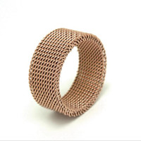 Wholesale Good Quality Couples Rings - Hot Fashion Men's Ring Romantic Net Love Ring Stainless Steel Ring Couple Rings Jewelry Good Quality Oath Of Love-R0337
