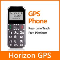 Wholesale Old Senior Phones - Old Men Senior Elderly Mobile phone GPS Tracker GSM alarm with SOS button real-time position tracker Voice Indicator GS503
