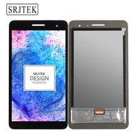 Wholesale Mediapad Digitizer - Wholesale- Srjtek Black For Huawei Honor Play Mediapad T1-701 T1 701U T1-701U LCD Display With Touch Screen Panel Digitizer free shipping