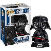 Wholesale Bobble Head Darth Vader - Brinquedos Funko Pop Marvel Star Wars Darth Vader Anakin Skywalker 11cm Jedi Jedi Knight Vinyl Bobble Head Tree Toys PVC