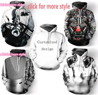 Wholesale Couple Music - New Fashion Couples Men Women Unisex DJ Music Video 3D Print Hoodies Sweater Sweatshirt Jacket Pullover Top S-6XL TT102