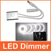 Touch-LED-Dimmer Touch-Schalter für Single Color LED Streifen-Lampe DC 12V / 24V In Line Style 5PCS / LOT um $ 18NO Track