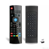 Wholesale Cheap Tv Wholesale Prices - 2017 Hot Selling & Cheap Price MX3 Mini Keyboard With 2.4G Wireless Support Tv Box And Pad Mini Controller