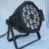 par 64 bühnenlicht großhandel-Freies verschiffen Top verkaufende Qualität 18X18 Watt Bühne Beleuchtung RGBAW UV 6in1 LED Par 64 LED Par64 Licht