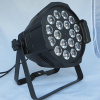 Wholesale Par Led Rgbaw - Free shipping Top selling High quality 18X18W Stage Lighting RGBAW UV 6in1 LED Par 64 LED Par64 Light