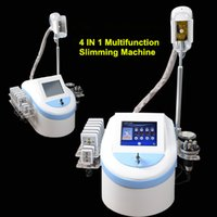 Wholesale Ultrasonic Cavitation Slimming System - 4 In 1 Cool Shape sliming Fat Freezing Fat Freeze Lipo Laser Ultrasonic Cavitation RF Body Slimming Fat Removal Machine beauty system