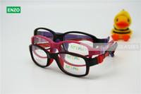 Wholesale 17 Rims - Boys Girls Glasses Size 50 17 No Screw Flexible, Silicone Bendable Teen Student Optical Glasses, Children Kid's Eyeglasses Frame