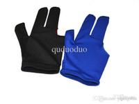 Wholesale Gloves For Sale Wholesale - BG2 10pcs Black and Blue Color Billiard gloves, Pool gloves, Snooker gloves for sale, Wholesale Fingers Gloves Black and blue